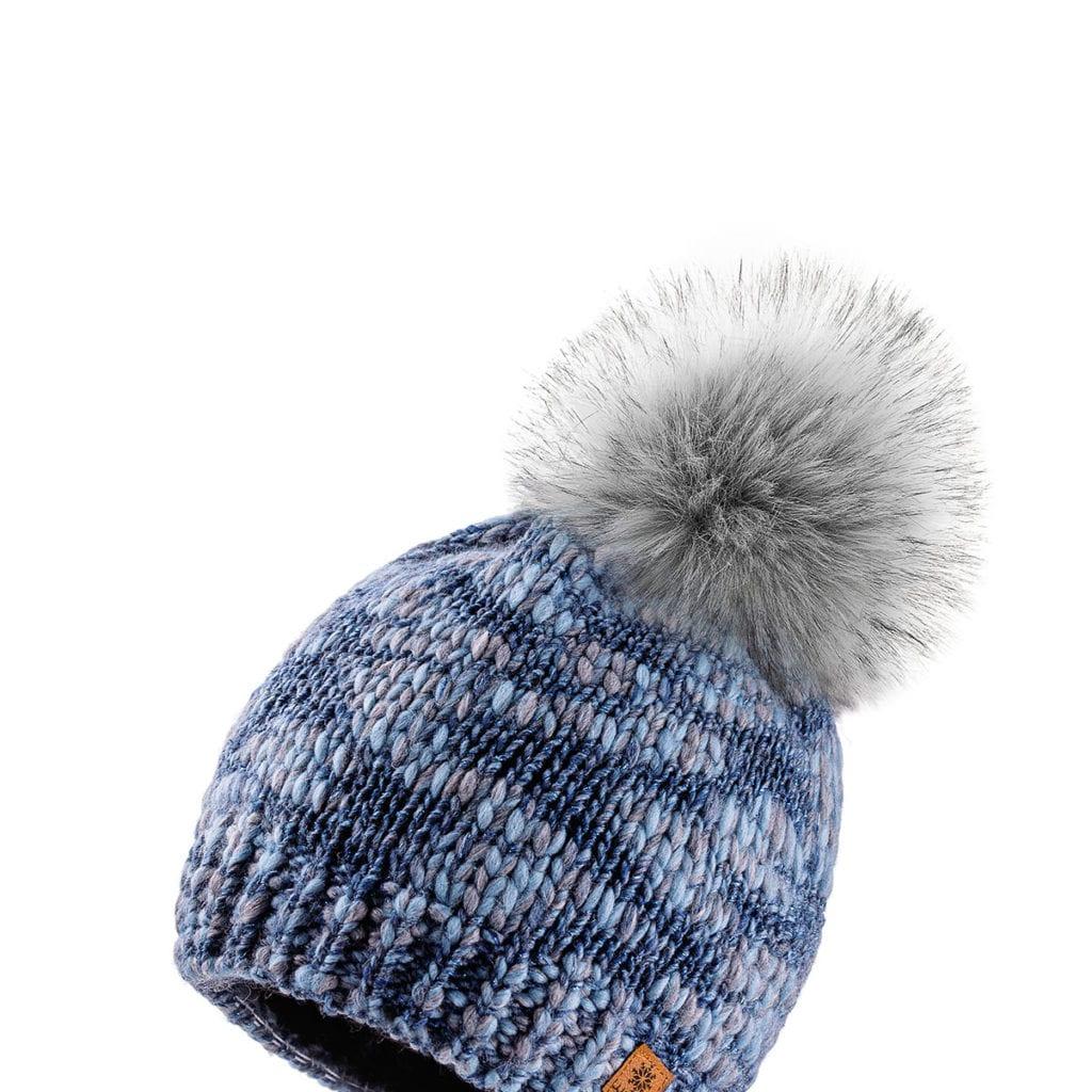 melange arctic blue